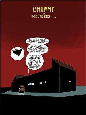 Great Scott Saga 2- Batman Fool Me Once 8muses Porncomics