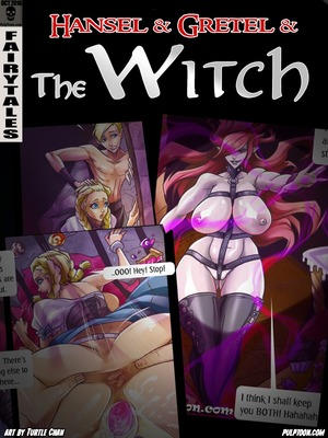 Hansel Gretel and the Witch 8muses Adult Comics