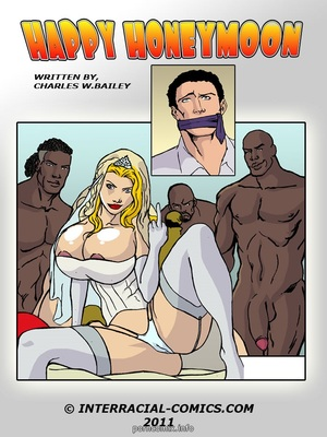 Happy Honeymoon- Interracial 8muses Interracial Comics