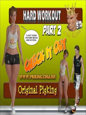 Hard Work Out -2, Pig King 8muses 3D Porn Comics