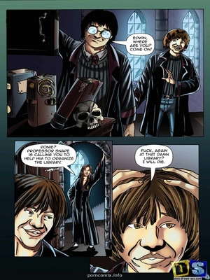 Harry Potter- Lesson Transformation 8muses Adult Comics