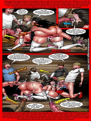 8muses Interracial Comics Haunted House Party- Smudge image 10