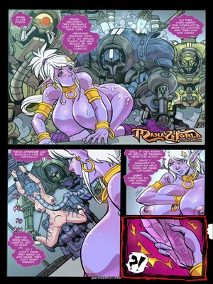 8muses Adult Comics Heavy Metal- Mana World image 15