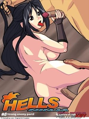 Hells Ninja 8 & 9- Hentai Key 8muses Adult Comics