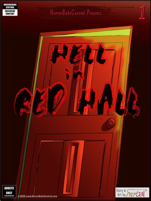 HorrorBabeCentral- Hell in red hall 8muses Adult Comics