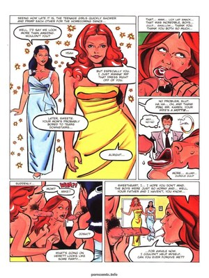 8muses Adult Comics Hot Moms # 3- Rebecca image 25