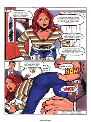 8muses Adult Comics Hot Moms # 3- Rebecca image 32