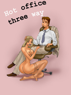 Hot Office Threeway 8muses Adult Comics