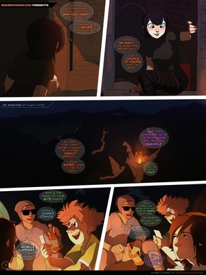 Hotel Transylvania- Beyond the Hotel 8muses Adult Comics