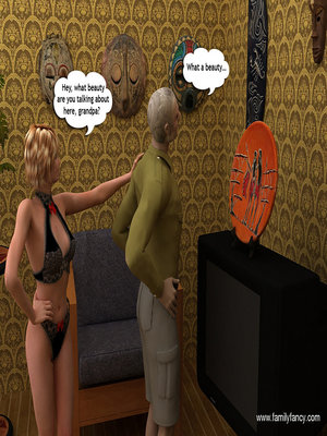 8muses 3D Porn Comics Hung granddaddy stretch girl's little pink hole image 05