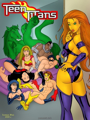 [Iceman Blue] Teen Titans- Sex Education 8muses Porncomics