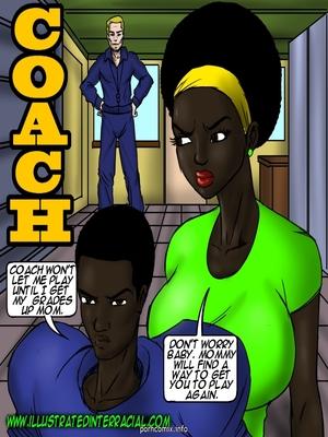 illustrated interracial- Coach 8muses Interracial Comics