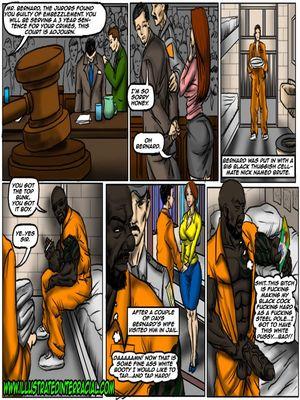 8muses Interracial Comics illustrated interracial- Prison Story image 02