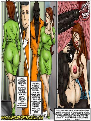8muses Interracial Comics illustrated interracial- Prison Story image 13