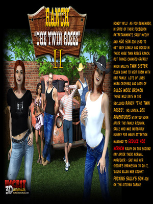 Incest3DChronicles- Ranch The Twin Roses. Part 2 8muses 3D Porn Comics