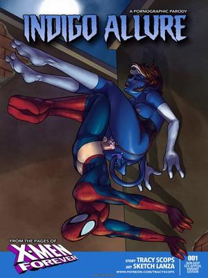 8muses Porncomics Indigo Allure (Spider-Man) image 01