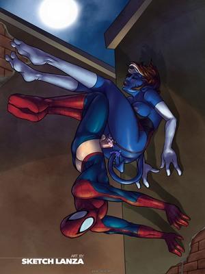 8muses Porncomics Indigo Allure (Spider-Man) image 11