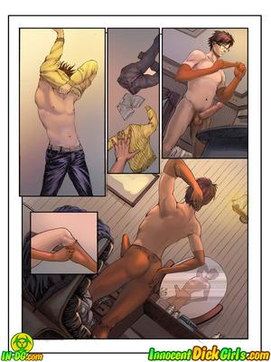 8muses Porncomics Innocent Dick girls – Jimmy Meets World image 05