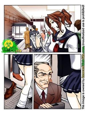 Innocent Dickgirl- Surprise In the Bus 8muses Porncomics