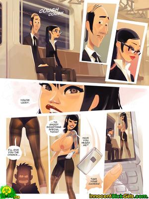 8muses Adult Comics Innocent Dickgirls – Filming in Shinjuku image 07
