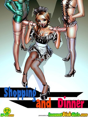 Innocent Dickgirls – Shopping And Dinner 8muses Porncomics