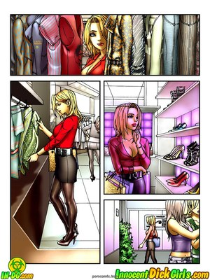 8muses Porncomics Innocent Dickgirls – Shopping And Dinner image 02