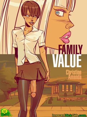 InnocentDickgirls- Family Value 8muses Porncomics