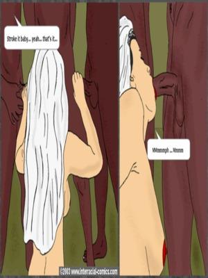 8muses Interracial Comics Interracial- Wedding Cocktail image 21