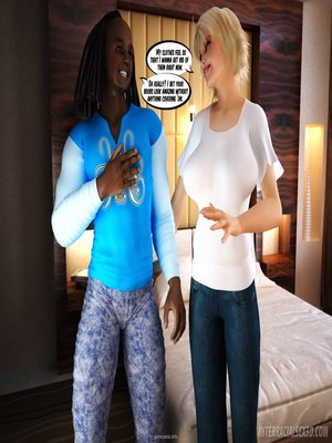 8muses Interracial Comics Interracialsex3D – Busty Blonde image 01