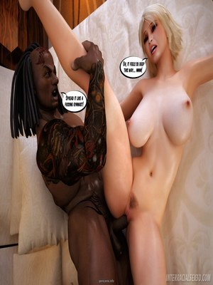 8muses Interracial Comics Interracialsex3D – Busty Blonde image 18