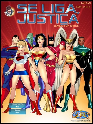 It Up League,Justice 2 (English)- Seiren 8muses Adult Comics