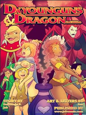 Jab Comix- Dau2019Younguns & Dragons 2 8muses Jab Comix