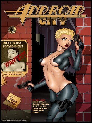 James Lemay- Android City 8muses Adult Comics