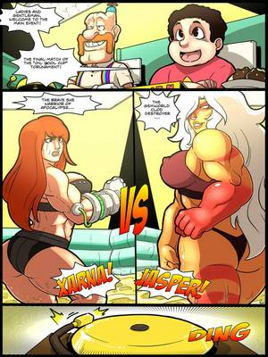 Jasper vs Xarna- Mad Project 8muses Porncomics