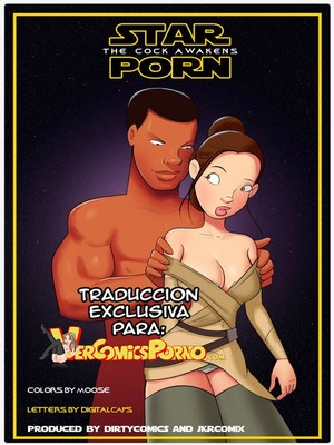 JKR- Star Porn- The Cock Awakens (Star Wars) 8muses Adult Comics