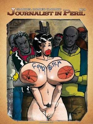 Journalist in Peril 3- Samuel Romeo 8muses Interracial Comics