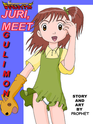 Juri, Meet Guilmon (Digimon) 8muses Adult Comics
