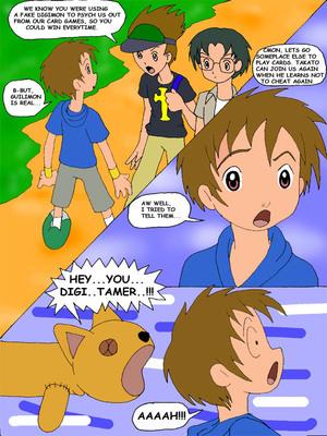 8muses Adult Comics Juri, Meet Guilmon (Digimon) image 02
