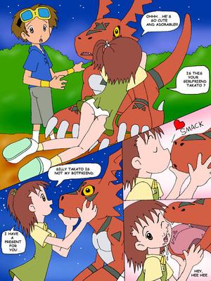 8muses Adult Comics Juri, Meet Guilmon (Digimon) image 05