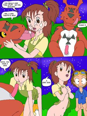 8muses Adult Comics Juri, Meet Guilmon (Digimon) image 14