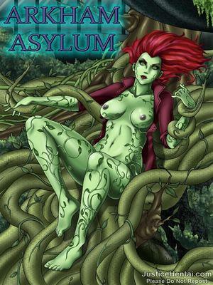 Justice Hentai- Arkham Asylum 8muses Porncomics