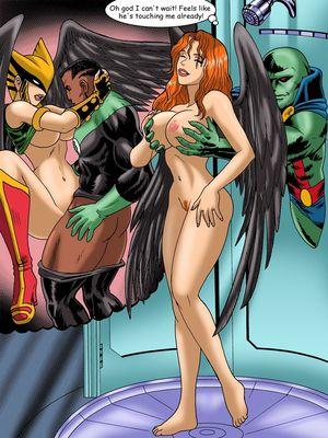 8muses Porncomics Justice Hentai- Superman,Batman image 25