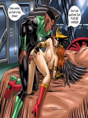 8muses Porncomics Justice Hentai- Superman,Batman image 27