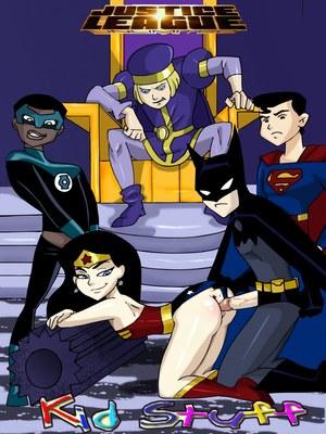 Justice League Unlimited- Kid Stuff 8muses Adult Comics