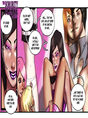 8muses Adult Comics Kannel- The Sorority Pledge image 22