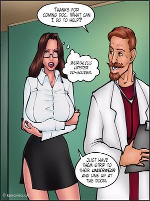 8muses Interracial Comics Kaos- Doctor Bitch image 09