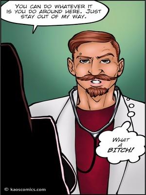 8muses Interracial Comics Kaos- Doctor Bitch image 10