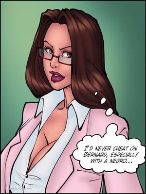 8muses Interracial Comics Kaos- Doctor Bitch image 45