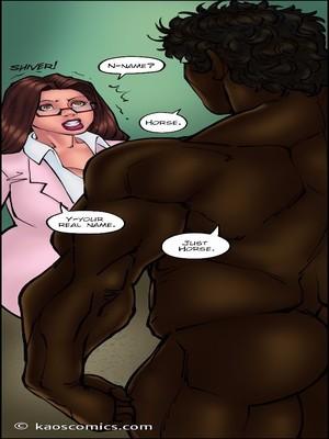 8muses Interracial Comics Kaos- Doctor Bitch image 46