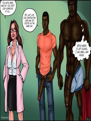 8muses Interracial Comics Kaos- Doctor Bitch image 55